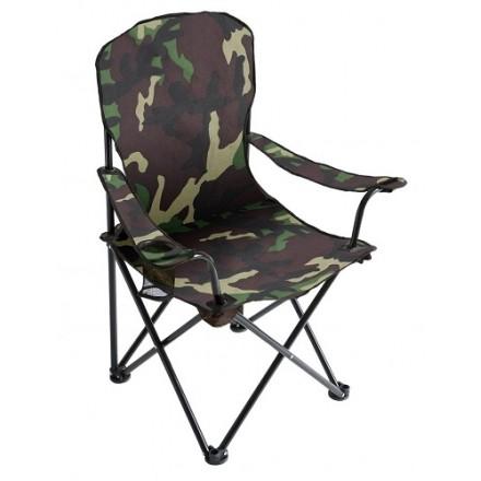 Mikado Składany Fotel Wędkarski Camouflage 012
