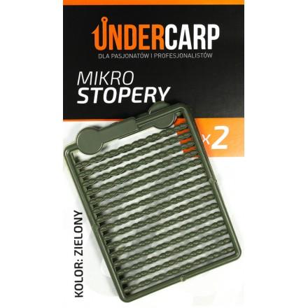 Undercarp mikro stopery – zielone