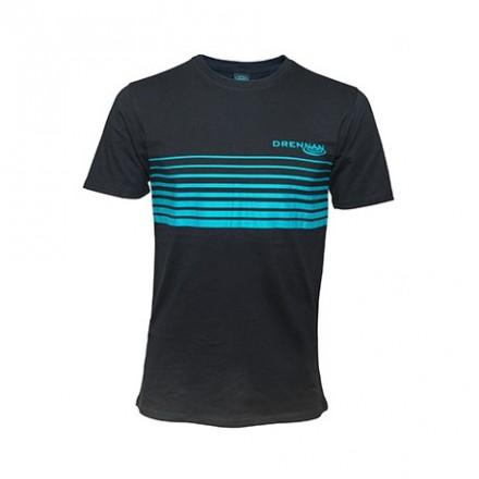 Drennan Koszulka T-Shirt Black Aqua XL