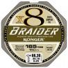 Konger Plecionka braider x8 black 0,08 150m