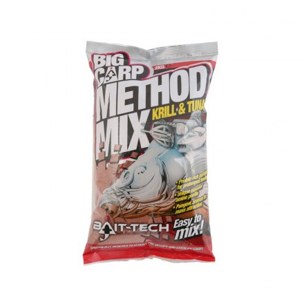Bait-Tech Zanęta Big Carp Method Mix Krill&Tuna 2kg
