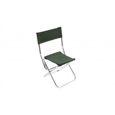 MIKADO Krzesło WĘDKARSKIE Kolor Zielony