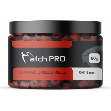 MatchProTop Harded Drilled Pellet Rak 8mm