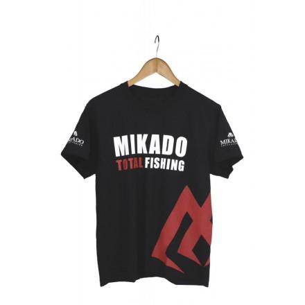 Mikado Koszulka czarna z nadrukiem L