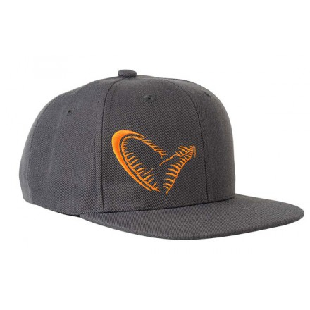 Savage Gear Czapka Flat Bill Snap Back szara