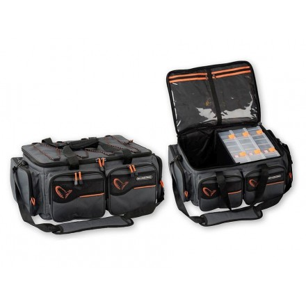 Savage Gear System box bag 3Boxes + Waterproof Cover