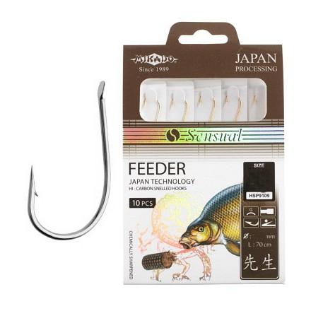 Mikado SENSUAL FEEDER Nr 12 NI z przyponem 0.10mm