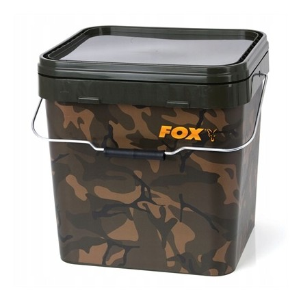 FOX CAMO SQUARE BUCKET 17L WIADRO