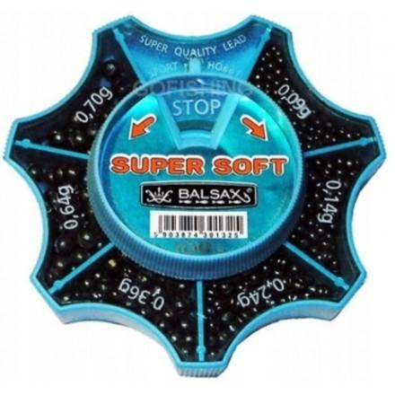 Balsax Ołów Wędkarski Super Soft 100g 0.09 - 0 70g