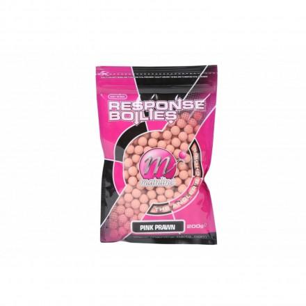 mainline Rsponse Range Boilies Pink Prawn 10mm, 200g