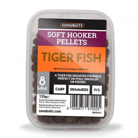 Sonubaits Soft Hooker Pellets - Tiger Fish // 8mm