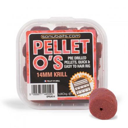 Sonubaits 14mm Krill Pellet O's