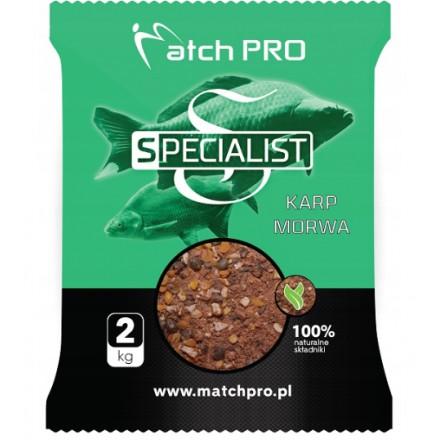 Match Pro Zanęta Specialist Karp Morwa 2kg