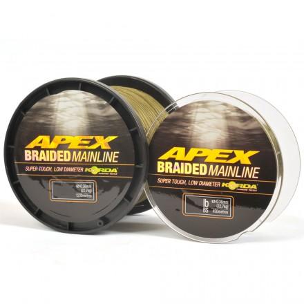 Korda Apex Braided Mainline 50lb 0,36mm 1200m