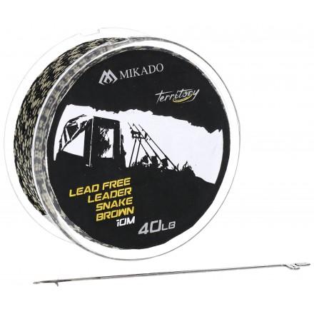 Mikado Territory Shock Leader 0.55mm/20.5kg/80m G