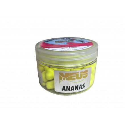 Meus Dumbells Fluo Pop Up 8mm Ananas