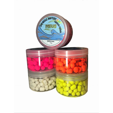MEUS Dumbells Fluo Wafters 8mm Ananas 55g