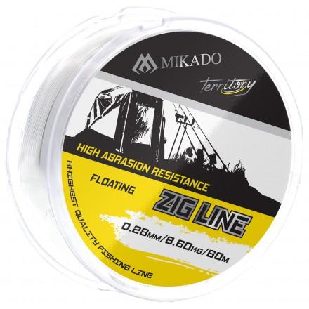 Mikado Żyłka Territory Zig Line 0,28mm 8,6kg