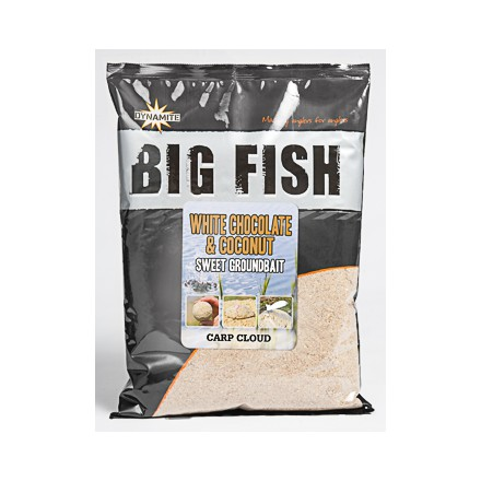 Dynamite Baits Big Fish White Chocolate & Coconut 1.8kg