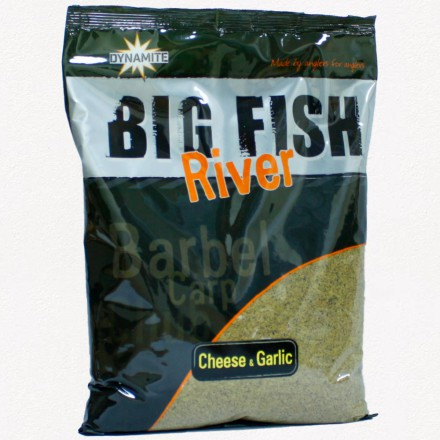 Dynamite Baits Big Fish Groundbait Cheese & Garlic 1.8kg