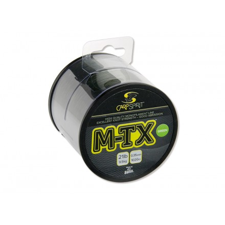 CarpSpirit Żyłka M-TX 0,35 1020m Zielona