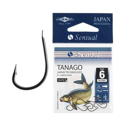 Mikado haczyki SENSUAL TANAGO Nr 6 Gold