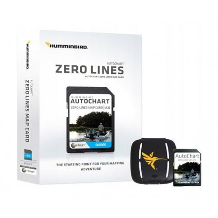 Humminbird Autochart Zero Line do zapisu map