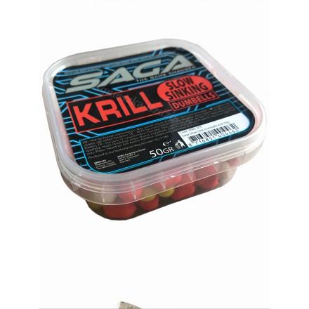 Spro Saga Slow Sinking Dumbells - Krill