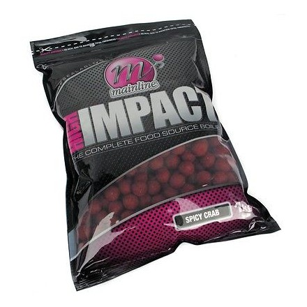 Mainline High Impact Boilies Spicy Crab 1kg 20mm