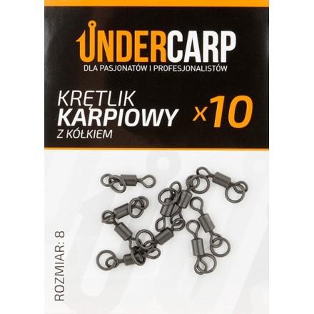 Undercarp Krętlik Karpiowy z Kółkiem