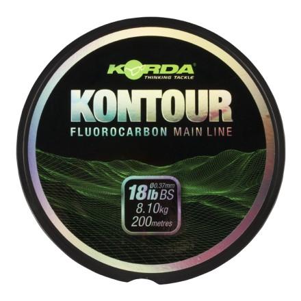 Korda Fluorocarbon Kontour 0,37mm 200m 8,10kg