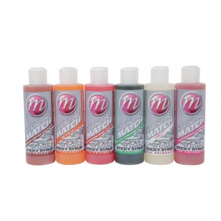 Mainline Match Carp & Coarse Sticky Syrup 250ml - Strawberry Tutti