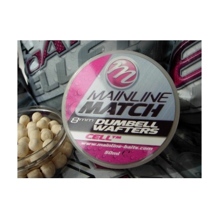 Mainline Match Dumbell Wafters 8mm Pink - Tuna