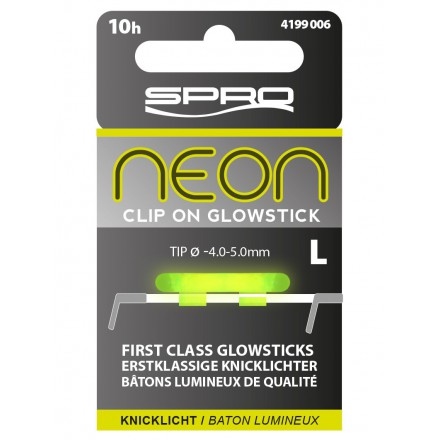 SPRO NEON CLIP ON GLOW STICKS S