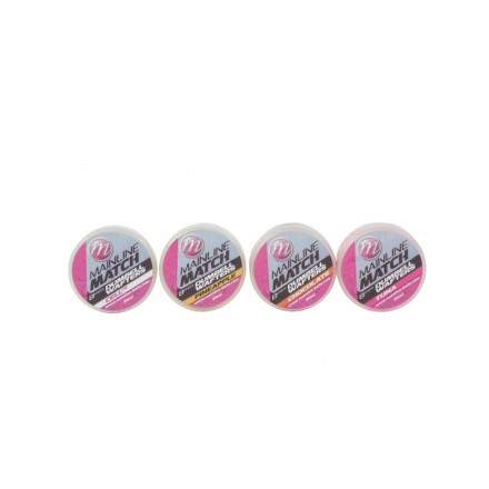 Mainline Match Dumbell Wafters 8mm Yellow - Pineapple