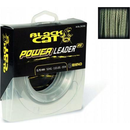Black Cat Plecionka Przyponowa Power Leader 1,00mm