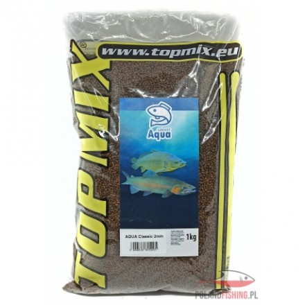 Top Mix Aqua Garant classic 2 mm pellet typu Coarse