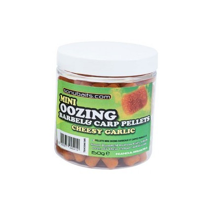 Sonubaits Cheesy Garlic Mini Oozing Barbel & Carp Pellet
