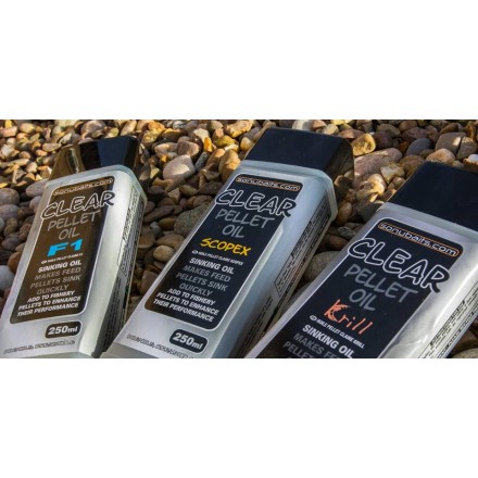 Sonubaits Clear Pellet Oil F1 250ml