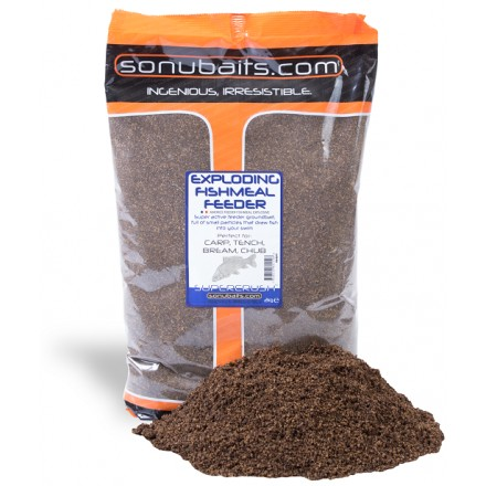 Sonubaits Exploding Fishmeal Feeder 2kg