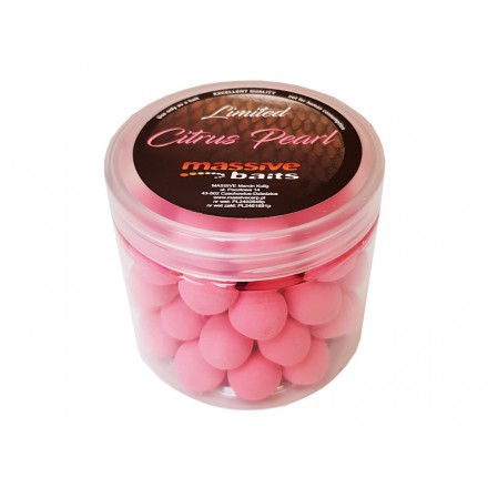 Massive Baits Pop up Citruz Pearl 18mm