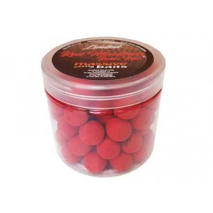 Massive Baits Pop up Red Monstrum 18mm