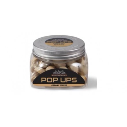 Sonubaits Ian Russell Pop Ups Creamy Toffee