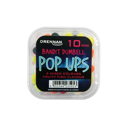 Drennan Bandit Dumbells Pop-Ups Fruit Fish 10mm