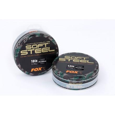 Fox Adaptive Camo Soft Steel 18lb 0.35mm 1000m