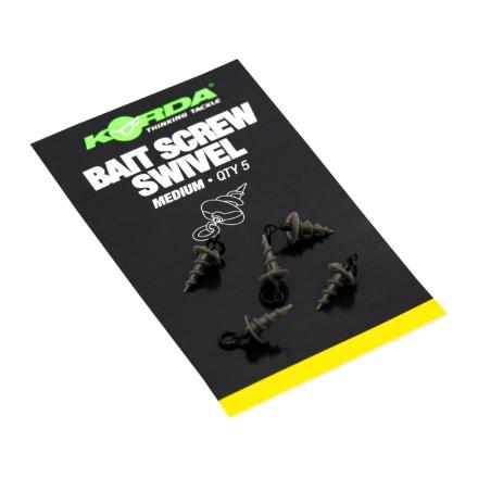 Korda Micro Ring Swivel Bait Screw Medium 5 szt.