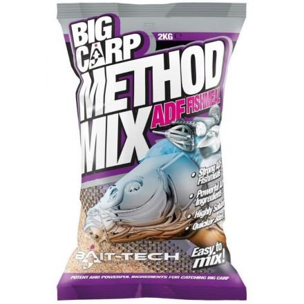 Bait-Tech Zanęta BIG CARP METHOD MIX 2kg ADF FISHMEAL