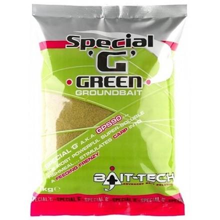 BAIT-TECH Special 'G' - Green Groundbait 1kg