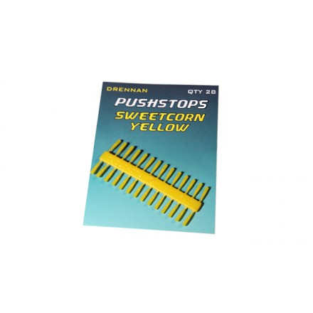 Drennan Stopery Pushstop Sweetcorn Yellow