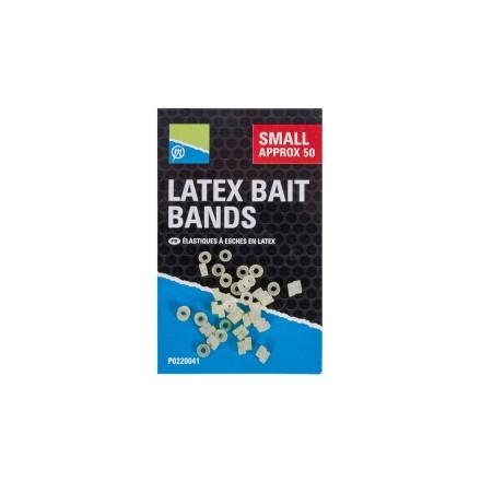 Gumki do pelletu Preston Latex Bait Bands - Small